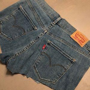 NEW Levi's cut shorts